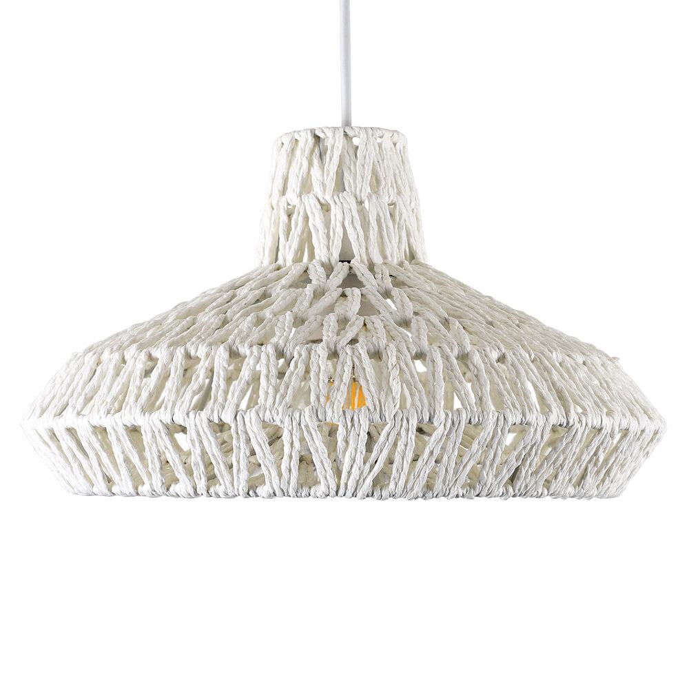 Minisun 35 5 Cm Lampenschirm Für Pendelleuchten Aus Seil
