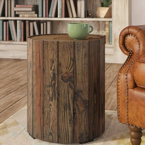 Antonio Round End Table by Loon Peak