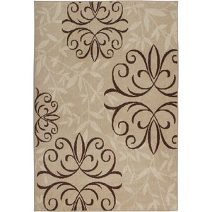 Adrian Whisper Beige Indoor/Outdoor Area Rug