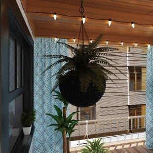 hanging planters you ll love wayfair rh wayfair com outdoor hanging planters and baskets outdoor hanging plants