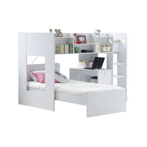 Wizard L Shape Bunk Bed With Shelf