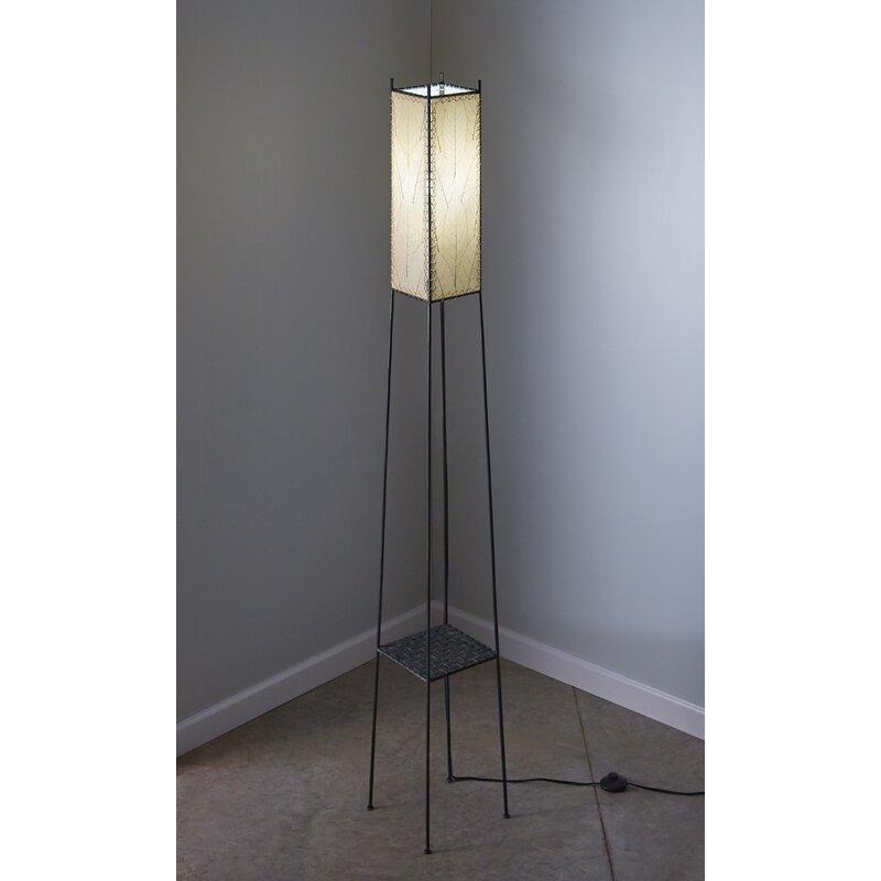 Eangee Home Design Square Shelf 72 Table Lamp Wayfair