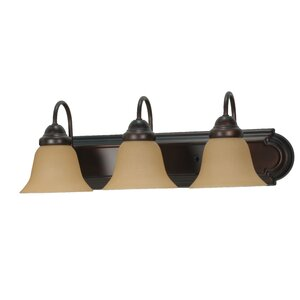 Gurney 3-Light Traditional Vanity Light