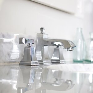 Rainier Double Handle Widespread Bathroom Faucet