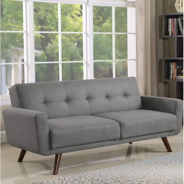 Brilliant Upholstered Tufted Sofa Wayfair Download Free Architecture Designs Scobabritishbridgeorg