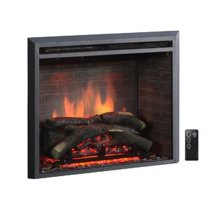 Electric Fireplaces Youll Love Wayfair - Fireplace inserts electric