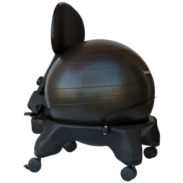 Isokinetics High Back Exercise Ball Chair Amp Reviews