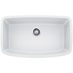 White Undermount Kitchen Sink undermount kitchen sinks you'll love | wayfair