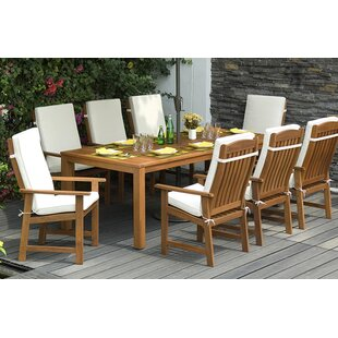 Seymour 8 Seater Dining Set With Cushions