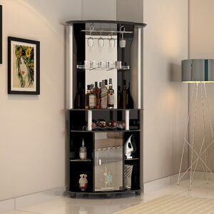 Mullikin Bar With Wine Storage
