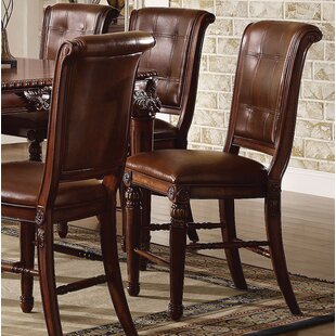 Wendel Counter Height Upholstered Dining Chair (Set of 2)