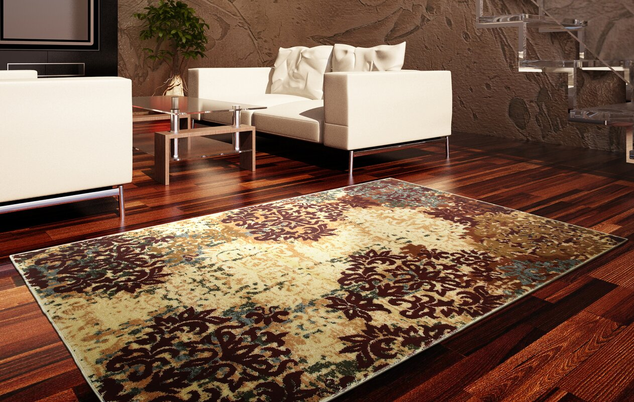 grace ivoryred area rug