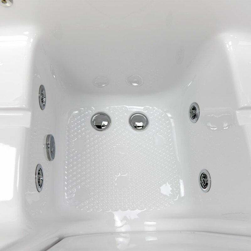 walk in tub for two. Tub4Two Two Seat Outward Swing Door Hydro Massage 60  X 31 75 Walk In Bathtub Ella In Bath