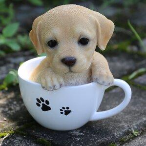 Teacup Labrador Puppy Statue