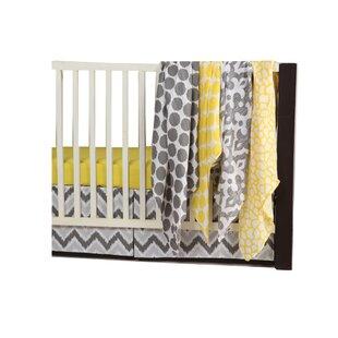 Chaliah Giraffe 6 Piece Crib Bedding Set