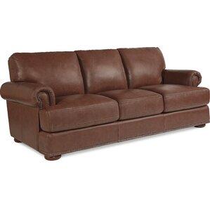 Andrew Leather Sofa by La-Z-Boy