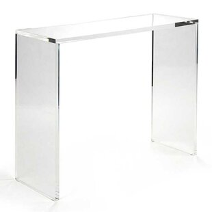 Lares Acrylic Console Table