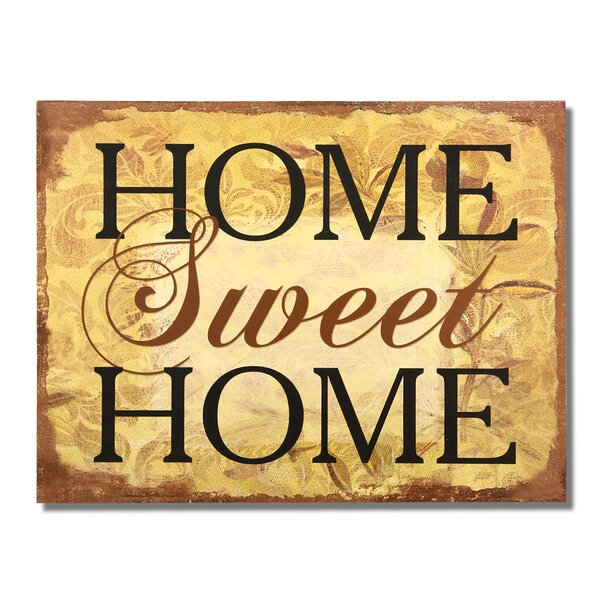 Home Sweet Home Wall Decor | Wayfair