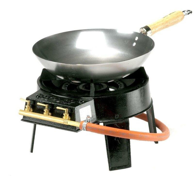 Hotwok Original Wok 4 Piece Gas Burner Set Wayfair Co Uk