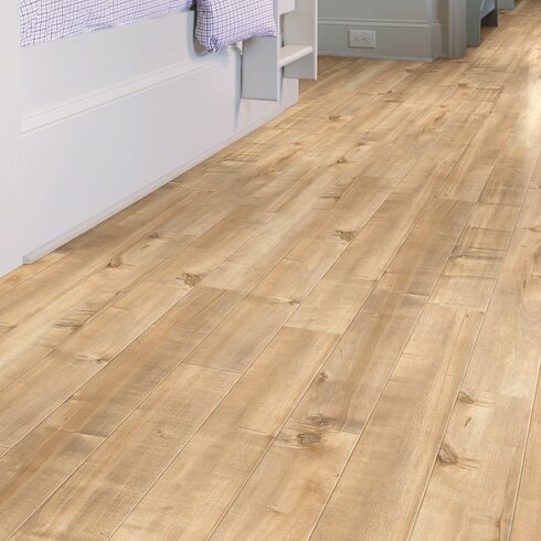 Shaw Floors Boardwalk 5 X 48 X 10mm Maple Laminate Flooring In