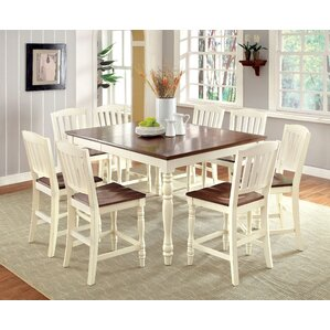 Laureaus 9 Piece Dining Set by Hokku Designs