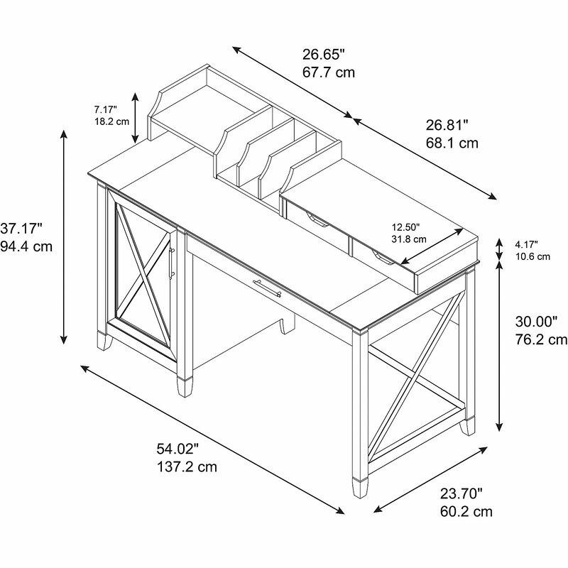 Oridatown Single Pedestal Computer Desk Amp Reviews Joss