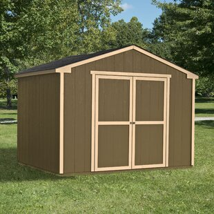 Marco Series 10 Ft. 7 In. W X 8 Ft. D Wood Storage Shed