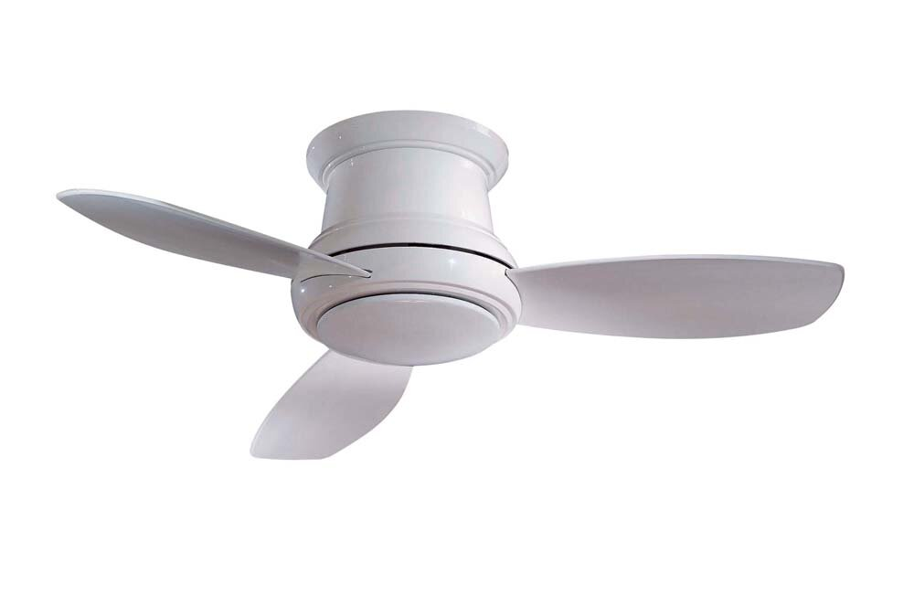 "Minka Aire 44"" Concept II 3 Blade LED Ceiling Fan & Reviews"