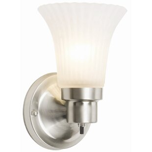Wall Sconce With On Off Switch Wayfair - Bathroom sconce with switch