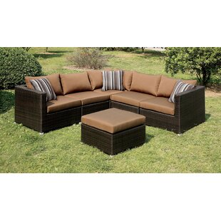Outdoor Patio Sectional Sofas | Wayfair