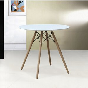 Wood Leg Dining Table by F..