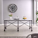 Excellent Overbed Rolling Table Wayfair Download Free Architecture Designs Lukepmadebymaigaardcom