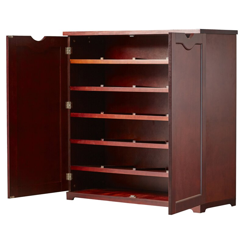 Charlton home shoe storage cabinet reviews wayfair for Storage charlton