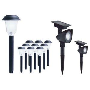 LED Landscape Lighting Set (Set of 12)