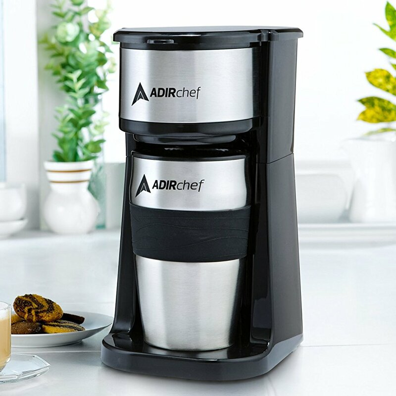 Adir Corp  1-Cup Grab and Go Personal Coffee Maker