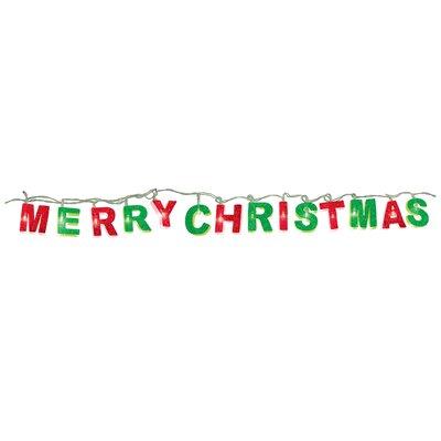 Merry Christmas String Lights Amscan