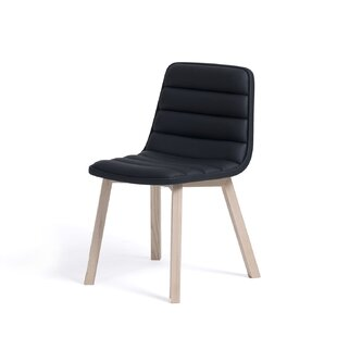 Roopville Genuine Leather Upholstered Dining Chair