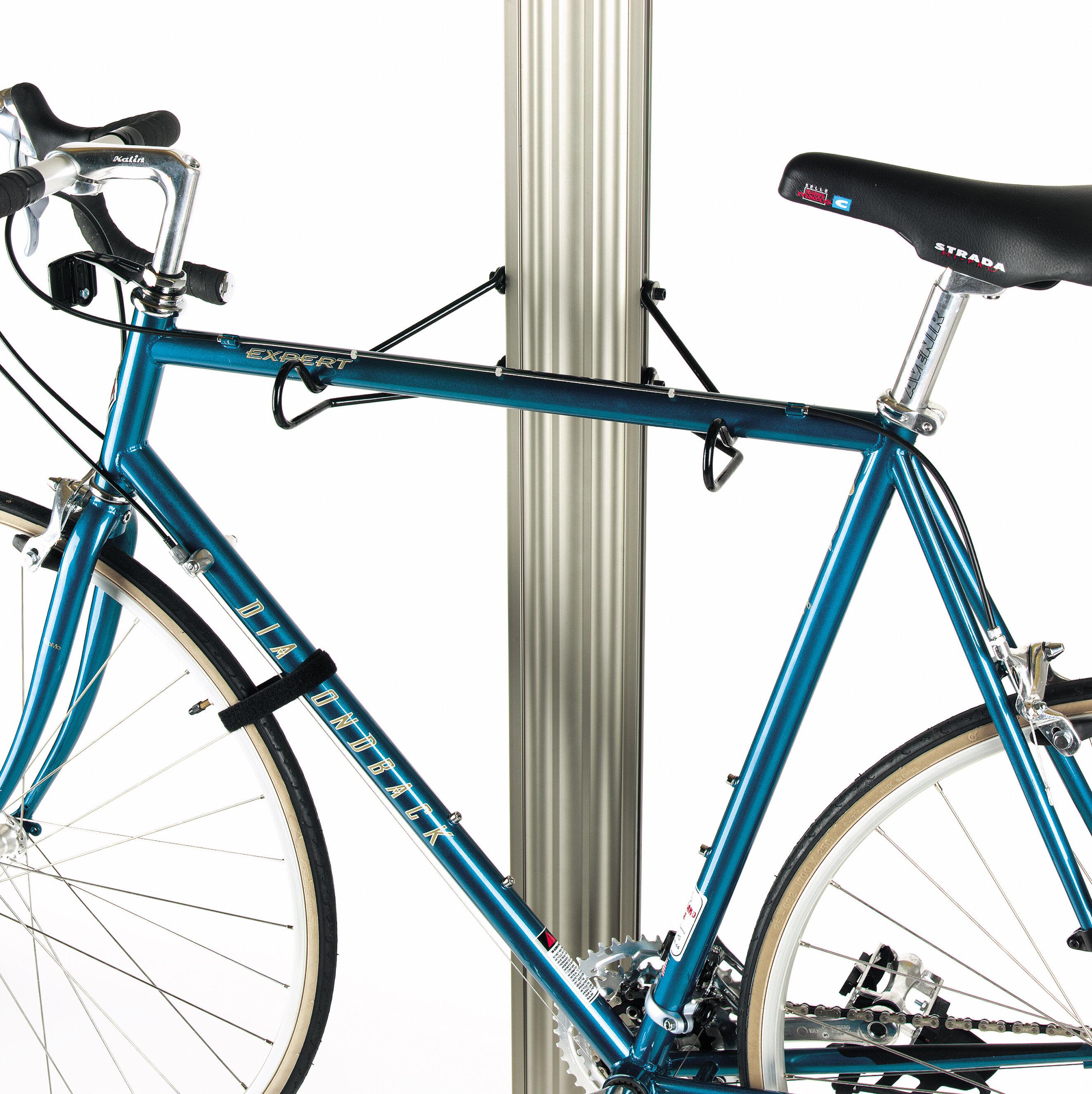 Ceiling Bike Rack >> Gear Up Inc Signature Series 4 Bike Ceiling Mounted Bike Rack