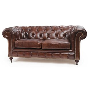 Jean Leather Chesterfield Sofa