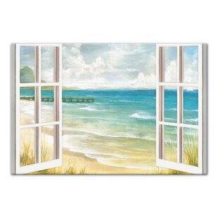 ee7fc2f61bb  Open Windows to Beach Paradise  Acrylic Painting Print