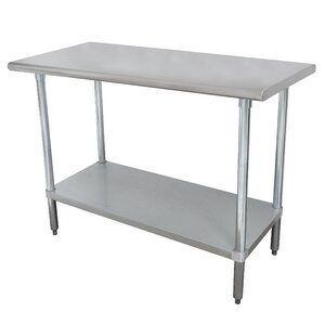 Wide Space-Saver Prep Table