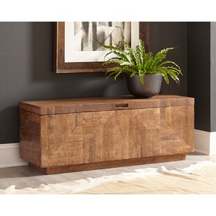 Fabulous Modern Rustic Interiors Parocela Wood Storage Bench Wayfair Inzonedesignstudio Interior Chair Design Inzonedesignstudiocom