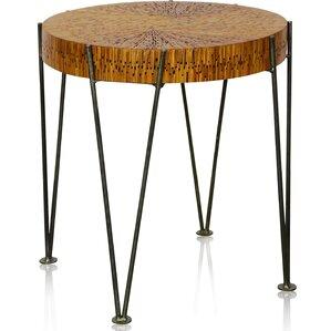 Union Rustic Shoshana Round End Table Image