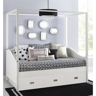 Angus Canopy Daybed With Trundle