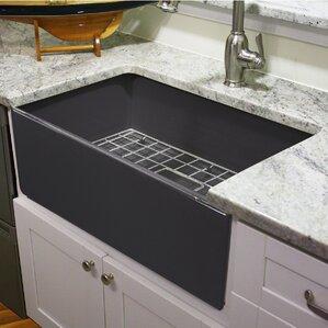 Cape 30 25 X 18 Fireclay Farmhouse Kitchen Sink