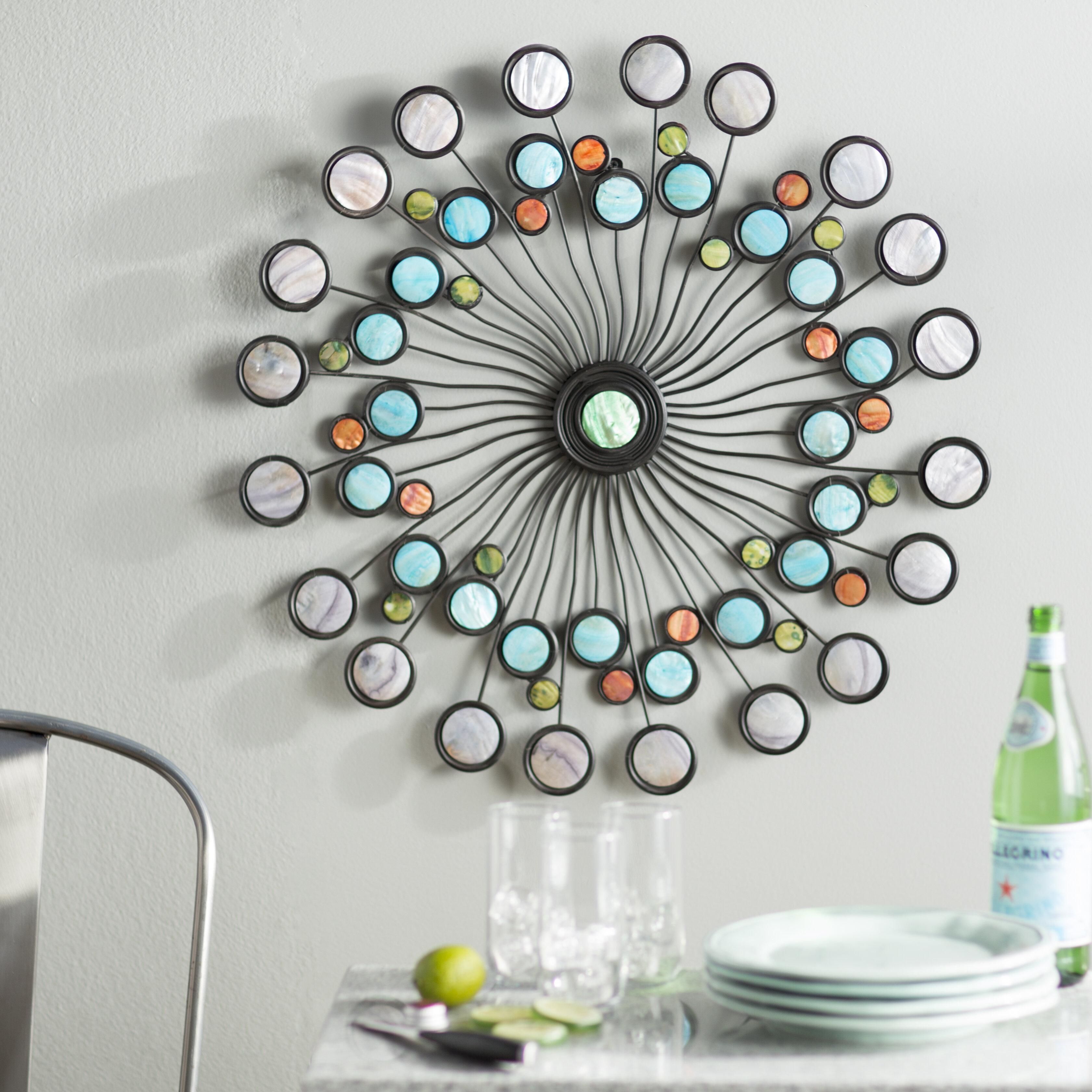 Latitude run modern metal wall décor reviews wayfair