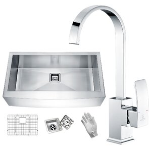 ANZZI Elysian Stainless Steel 32