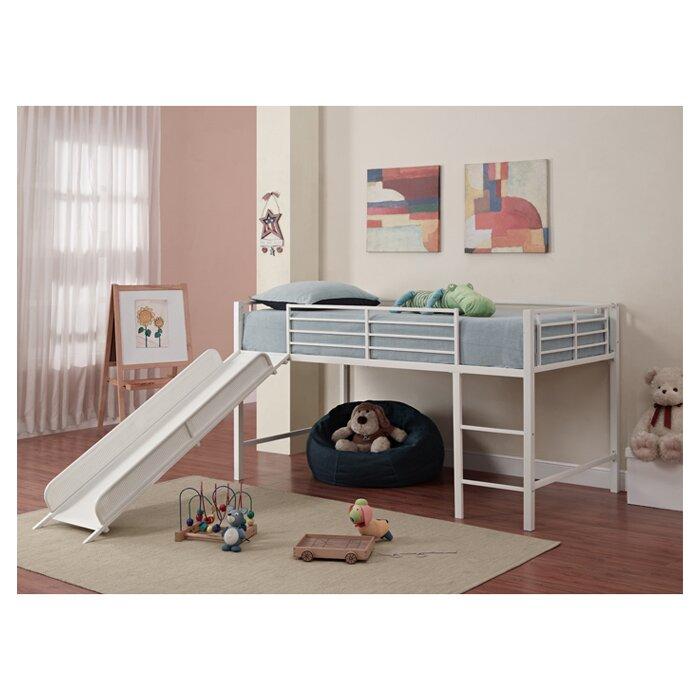 Loft Bed Images viv + rae harper twin low loft bed & reviews   wayfair