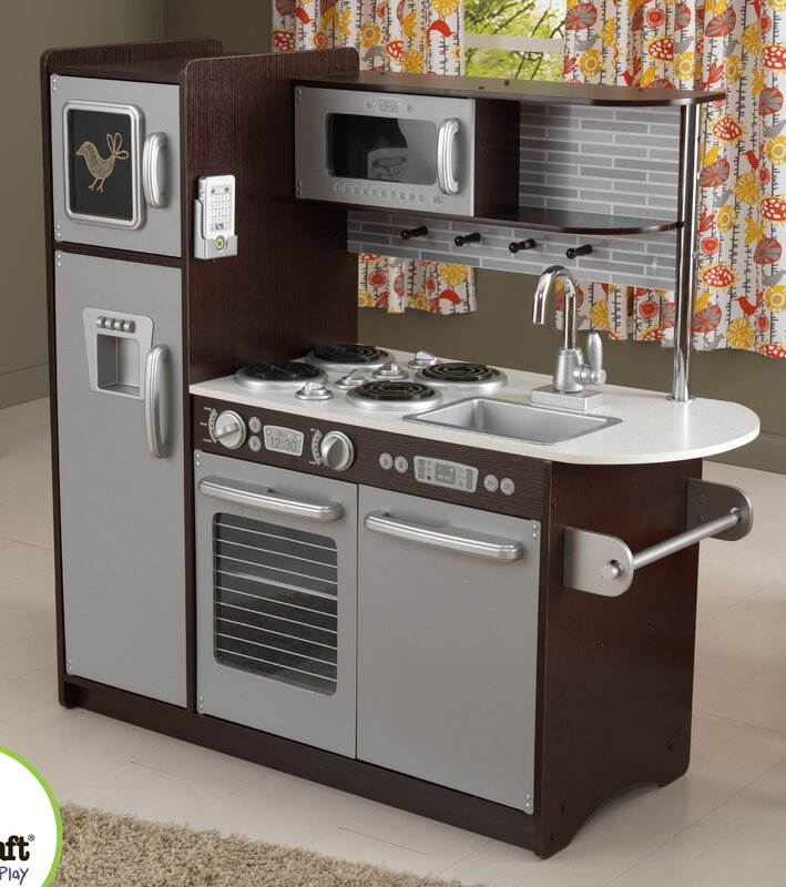 KidKraft Uptown Espresso Play Kitchen & Reviews
