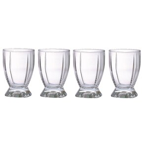 Impression 12 Oz. Double Old Fashioned Glass (Set of 4)